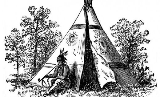 Native American Indian Coloring Books And Free Coloring Pages Native American Teepee Coloring Books Native American Tattoos