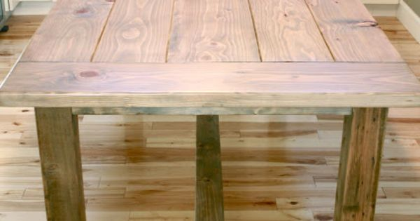 Minwax Weathered Oak Stain 270 Used On This Table Would