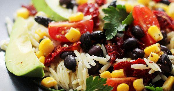 Southwestern Orzo Salad + KitchenAid Stand Mixer Giveaway | Recipe ...