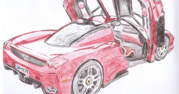 how to draw a ferrari enzo. Cars Review. Best American Auto & Cars Review