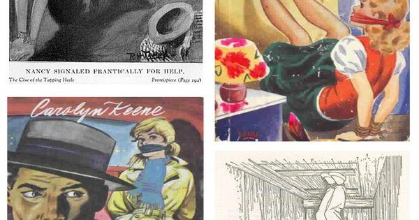 Nancy Drew Bound And Gagged Nancy Drew Pinterest
