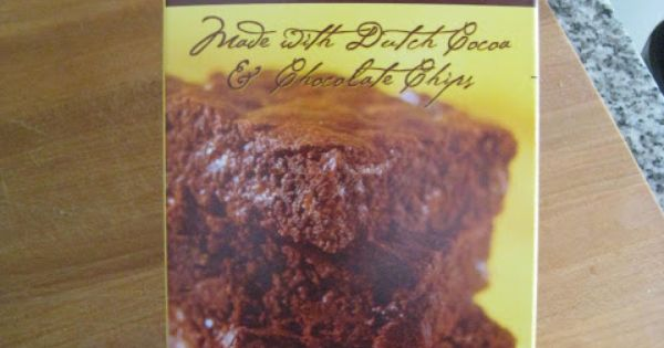 Trader Joes Brownie Truffle Baking Mix These Are The Best