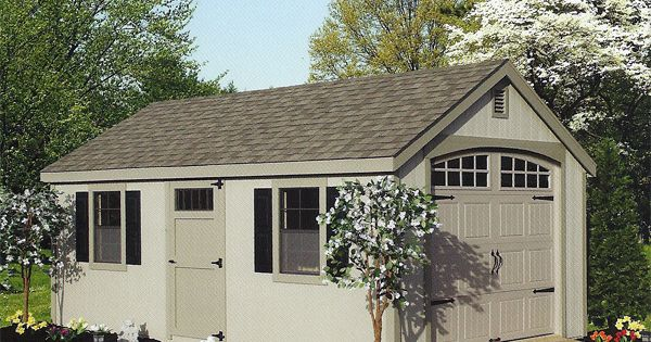 12 x 20 wood new england cape cod garage general for Cape cod garage doors