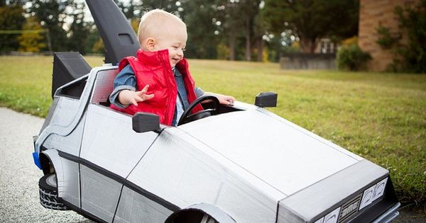 Toddler/infant Halloween idea... Marty McFly