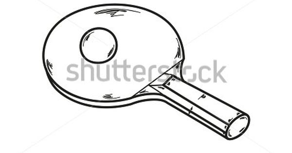 Stock Images Similar To Id 122338939 Table Tennis Silhouettes Ping Pong Ping Pong Paddles Table Tennis