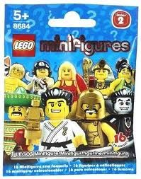 8684 0 Lego Minifigures Series 2 Random Bag Lego Minifigures Mini Figures Lego Movie