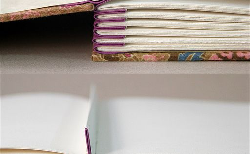 Accordion spacer in an album beautiful construction a for Beautiful binding