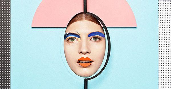 photo collage display ideas - Anna Lomax fashion beauty photography