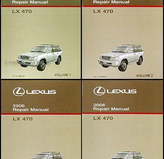 Owners Manual Lexus Lx470 2007