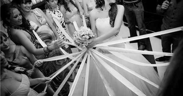 lancer du bouquet remplacé par le jeu du ruban