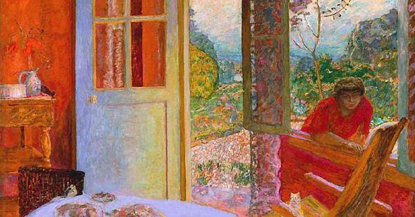 Pierre bonnard salle manger la campagne 1913 my for Pierre bonnard la fenetre ouverte