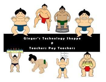 Transparent Wrestlers Clipart - Japan Sumo Wrestler Cartoon , Free  Transparent Clipart - ClipartKey