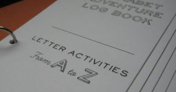 Alphabet activity log. Small Types: Don't Forget the Skills