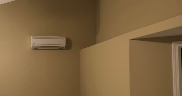 Vrv Life Ductless Indoor Wall Unit Zones The Master Bedroom Heating And Air Conditioning Wall Unit Ductless