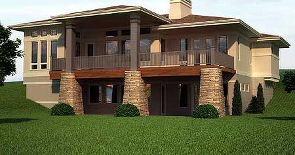 Plan 95002rw Prairie Mountain Pleaser Prairie Style Houses Basement House Plans Ranch House Plans