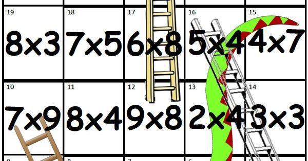 Encore des jeux de multiplication multiplication for Multiplication en jouant
