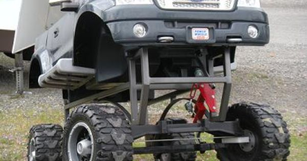 Monster 4x4 Power Wheels Modified Pinterest Power