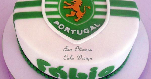 Ana Oliveira Cake Design Bolo Sporting Portugal cakepins ...