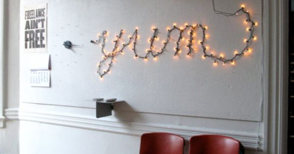 Starry Starry String Lights! • Year Round Home Decor using Christmas lights