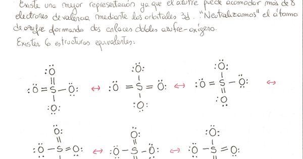 Estructura De Lewis Del Ion Sulfato  So4 2