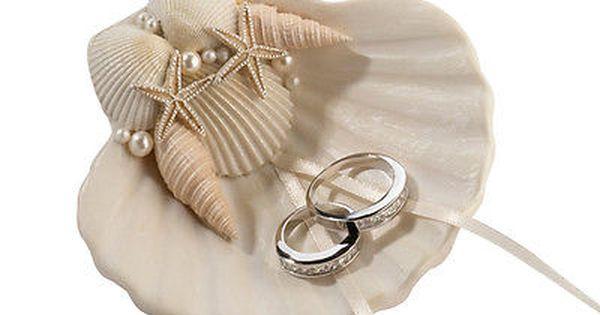 Shell dish Seashell Ring Bearer Pillow Nautical Destination Ocean Seaside Mermaids Wedding Decor Light pink Beach Wedding Ring holder