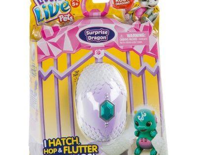 Little Live Pets Surprise Dragon Green Blue Little Live Pets