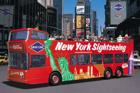 Choose From Nyc Double Decker Bus Tours Where You Can Hop On And Off To Get Up Close With The City S New York City Tours New York City Vacation New York Tours