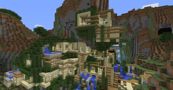 A minecraft house built in a cliff http cdn2 - Planetminecraft com ...
