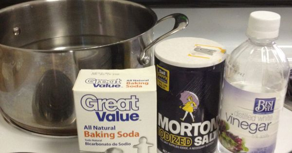 how to clean clear retainers baking soda