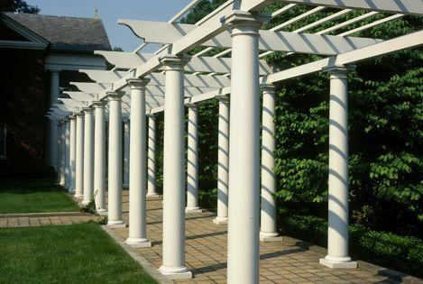 Polystone fiberglass columns tuscan capitals bases for 10 fiberglass columns