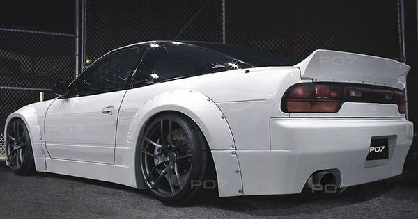 Nissan 200 Sx S13 Widebody Rally Body Kit Front Sill Rear Spoiler Rear Bumper Today Pin Body Kit Nissan New Luxury Cars