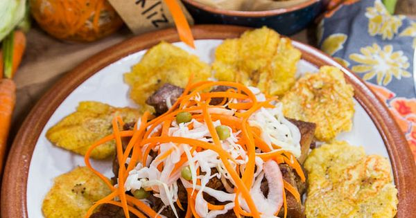 Griot Tacos, Haitian Pikliz & Fried Plaintains! Thanks to ...