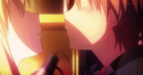Anime Sakurasou No Pet Na Kanojo Kiss Lol Not Really Catblocked Mashiro Shiina Cute Anime Character Comic Art Girls
