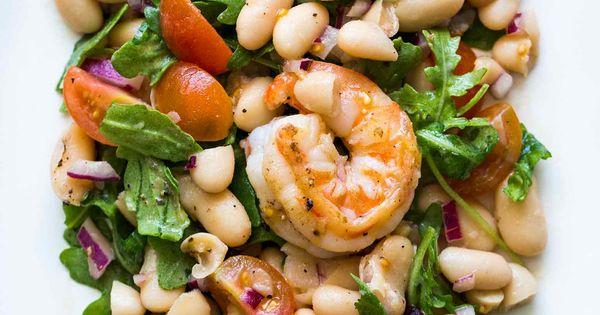 White beans, Cherry tomatoes and Arugula salad on Pinterest
