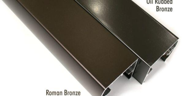 Oil Rubbed Bronze Vs Roman Bronze Showers Pinterest