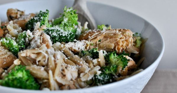 Slow Cooker Parmesan Garlic Chicken