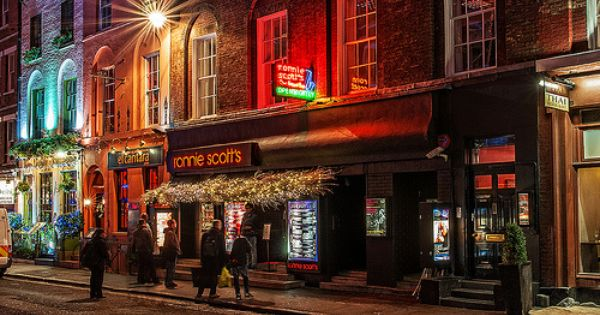 Ronnie Scott S Jazz Club Frith Street Soho London Jazz Club London Soho London