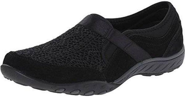 Skechers Sport Women's Our Song Fashion Sneaker, Black