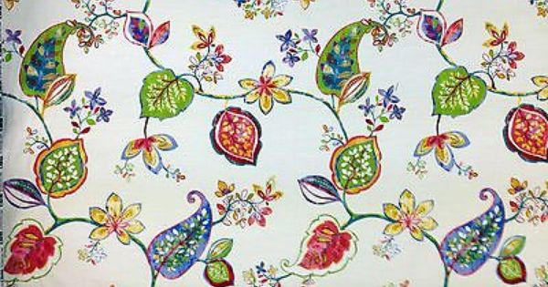 cotton curtains soft furnishings and paisley print on pinterest