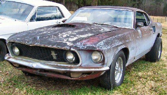 Rare 1969 Shelby Mustang Gt500 2 Door Fastback 352ci 5 8l V8