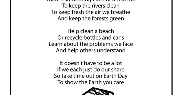 earth day poems for kids - photo #22