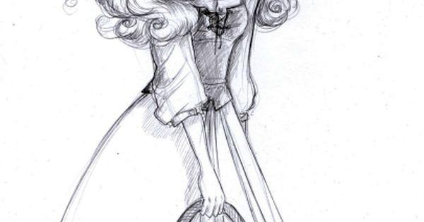 Princess Aurora Art Sketch