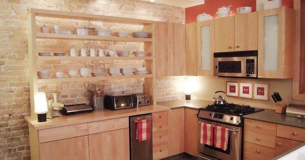 Des tag res ouvertes dans la cuisine nouvelle maison for Etagere cuisine lumineuse