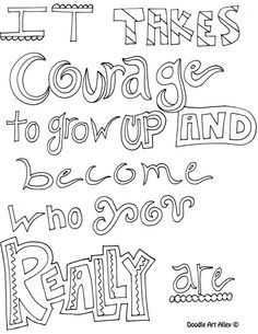 Positive Quotes Coloring Pages Quotesgram By Quotesgram Quote Coloring Pages Inspirational Quotes Coloring Coloring Pages