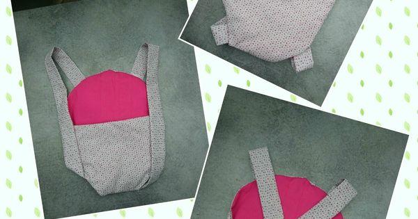 porte b b pour poup e tuto a coudre pinterest sewing diy and craft. Black Bedroom Furniture Sets. Home Design Ideas