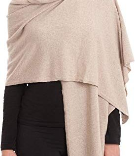 Woman Short Poncho 100/% Cashmere Made in Italy DALLE PIANE CASHMERE