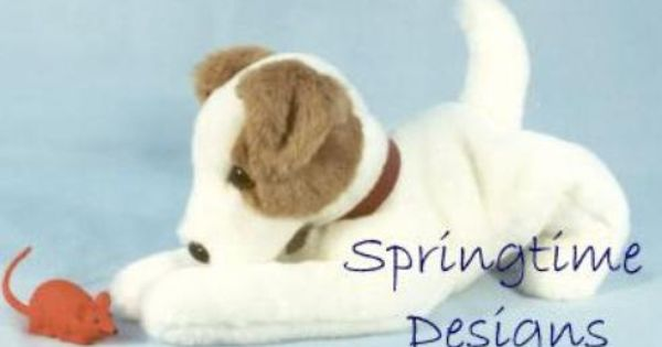 Jack Russell Sewing Pattern 15 Long Terrier By Springtimedesigns