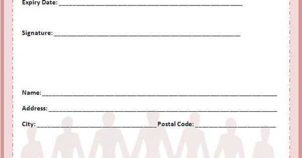 donation pledge card samples