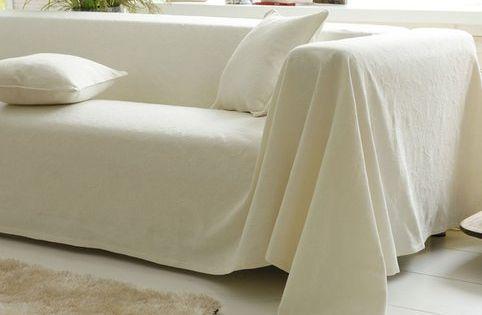 boutis plaid ou jet de canap piqu de coton becquet motifs cossais et canap s. Black Bedroom Furniture Sets. Home Design Ideas
