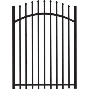 Tuffbilt Cascade 4 Ft X 5 Ft Heavy Duty Black Aluminum Arched